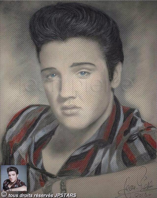 Elvis Presley por JPSTARS